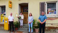 """Postfiliale Balzhofen feiert 25-jähriges Jubiläum – """"Die gute Seele im Dorf"""""""