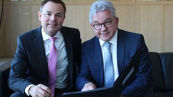 Justizminister Guido Wolf kümmert sich um Bühl – Lösung für Notariat in Sicht