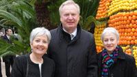 Zitronenfest in Menton: Ehrungen für Martine Casério und OB Gerstner