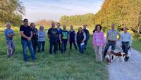 Landwirte listen Probleme auf: Auch Verunreinigung durch Hundekot – Ortsbegehung mit OB Mergen