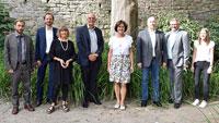 Hoher Besuch aus Mumbai – Deutscher Generalkonsul Jürgen Morhard im Rathaus Baden-Baden