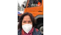 OB Mergen beim Schneeräumen – Winterdienst begleitet