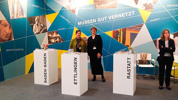 """""""Museen gut vernetzt"""" auf der art Karlsruhe – Gemeinsame Präsentation von Rastatt, Baden-Baden und Ettlingen"""