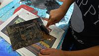 Immer noch Ferienspaß – Kinder wagen einen Blick ins Körperinnere – Workshop im Museum LA8