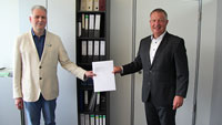 Kuppenheimer Bürgermeister jetzt offiziell Kandidat als Rastatter Landrat – Karsten Mussler gab Bewerbung im Landratsamt ab