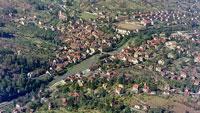 Luftbilder von Gernsbach um 1960 – Neuerwerbung des Stadtarchivs