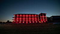 """""""Alarmstufe Rot"""" auch auf der Galopprennbahn Iffezheim – 8000 Teilnehmer in ganz Deutschland"""