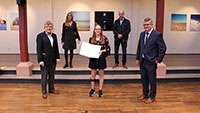 18-jährige Deutsche Meisterin in Bühl geehrt – Titel bei Jugendmeisterschaften im Tischtennis für Menschen mit Behinderung