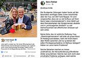 "Aufregung um ""Frau Obermeisterin"" in Stuttgart – OB-Söhne betreuen ""städtische Social-Media-Kanäle"" des Stadtoberhaupts"