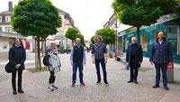 Die Goodwill-Tour des Rastatter OB Pütsch – Besuch bei Einzelhändlern, Gastronomen und Hoteliers