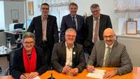 Absichtserklärung für Digitalisierungsfortschritt unterzeichnet – Neun mittelbadische Kreisstädte beteiligt