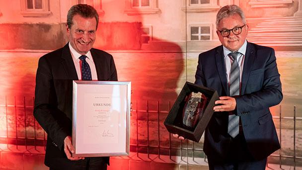 """Die Spuren von Günther Oettinger in Baden-Baden und Strasbourg – Mitgründer von Coeur de l´Europe – Auszeichnung als """"Gesicht Europas"""""""