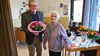"""100-jährige Bühlerin Klara Densch erklärt ihr Geheimnis – """"Viel Bewegung und lachen"""""""