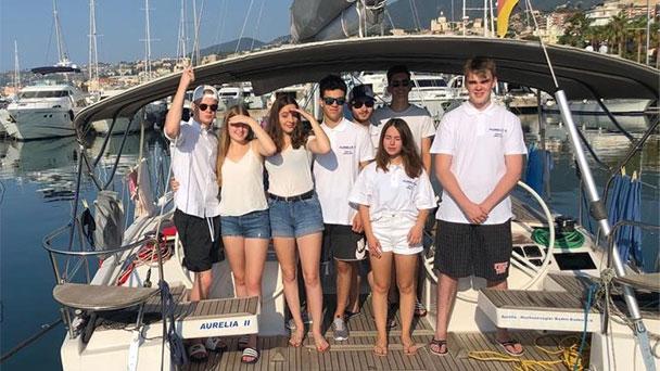 """""""Hochseesegeln"""" auf andere Schulen ausgeweitet – Starthafen Sanremo"""
