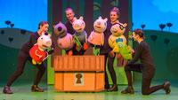 """Girlanden, Luftballons und Schokoladenkuchen bei Familienmusical – Vorverkaufsstart für """"Peppa Pig Live!"""" – Am 21. April in der Jahnhalle Gaggenau"""