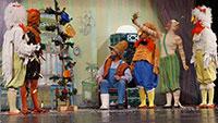 """Münchner Theater für Kinder in Gernsbach - Weihnachtsmärchen """"Pettersson feiert Weihnachten"""""""