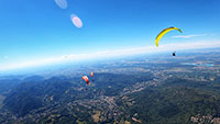 Rekordflug von Baden-Baden bis fast nach Ingolstadt – Gleitschirm-Meisterschaft am Merkur