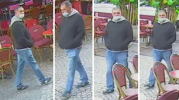 Polizei sucht diesen Mann – Fotos und Videos zu Todesfall am Augustaplatz in Baden-Baden