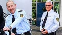 Personalien bei Polizei in Gaggenau – Polizeidirektor Karl-Heinz Ploß sagt bye-bye – Neue Aufgabe für Polizeioberrat Jörn Hinrichsen