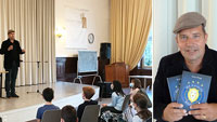"""""""Mit einem Buch rettet man nicht die Welt"""" – Kinderbuchautor im Markgraf-Ludwig-Gymnasium"""