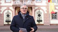 """Rastatter OB Pütsch sendet Neujahrsgruß – """"Lange Durststrecke der Pandemie für die Bürgerinnen und Bürger"""""""