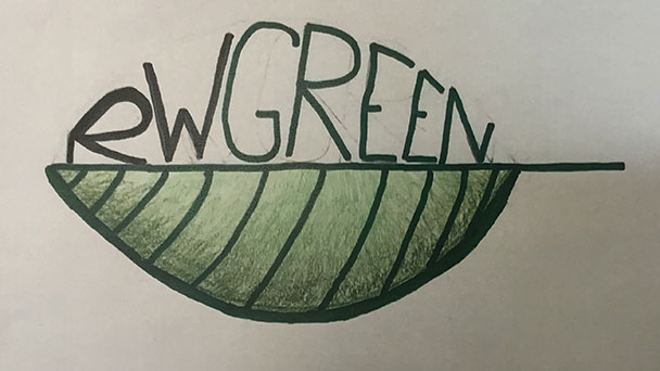 Kreative Schülerin Magdalena Raap – Nachhaltigkeits-Logo für das Richard-Wagner-Gymnasium
