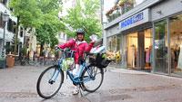 """Einzelhändler in Bühl belohnen Radfahrer – """"Stempel auf Bonuskarte"""""""
