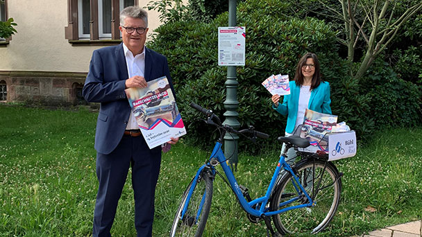 """Bühl fährt Rad"" – Erste Radschnitzeljagd der Zwetschgenstadt"