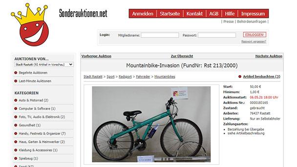 """""""Zum Erstem, zum Zweiten, zum Dritten…"""" – Online-Auktion des Bürgerbüros Rastatt startet morgen"""