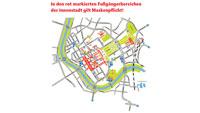 Maskenpflicht auch in Rastatter Innenstadt – Ordnungsdienst überprüft Einhaltung