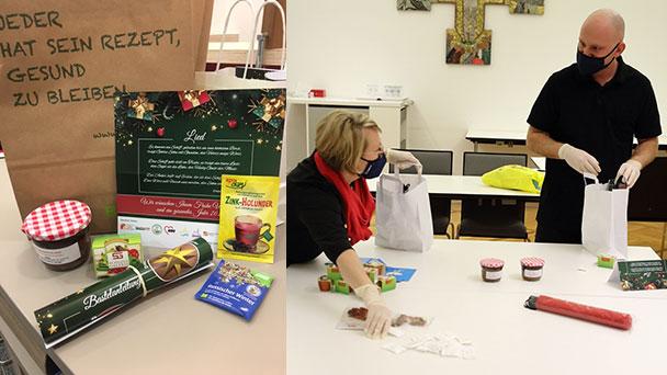 Verpackungsaktion in Rastatt – 275 Weihnachtstüten für Senioren im Zay