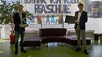 Notebooks für Lothar-von-Kübel-Realschule – Bürgermeister Ernst übergab 40 Notebooks
