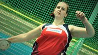 Baden-Badenerin Leia Braunagel bei den besten Damen in Frankfurt – SCL-Heel-Athletin schleudert Diskus auf über 50 Meter