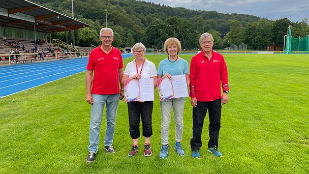 Goldene Ehrung für Heike Hirth und Heidrun Rosch – Große Verdienste für Badener-Badener Sport