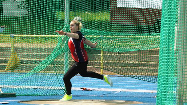 Baden-Badenerin Leia Braunnagel schaffte es bis ins Finale der Deutschen Meisterschaften