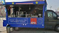 Baden-Badener SPD reicht belgische Waffeln – Heute auf dem Bernhardusplatz
