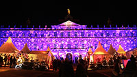 Schlossbeleuchtung erstrahlt vom 11. Dezember bis 6. Januar