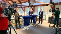 Bühler Oberbürgermeister Schnurr beauftragt ZDF-Redakteur – Video-Talk statt Neujahrsempfang
