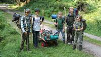 Abenteuer vor der Haustür - Forstamt organisierte Schwarzwaldtrekk
