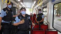 65 uniformierte Polizeibeamte im Einsatz gegen Maskenverweigerer – 4.800 Fahrgäste kontrolliert