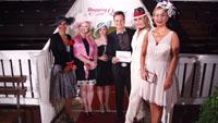 Shopping Queen-Dreharbeiten auf der Iffezheimer Rennbahn - Für Fernsehsender VOX gingen fünf Baden-Badener und Bühler Kandidatinnen ins Rennen