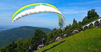 Gleitschirmflieger mit Rekordflug vom Baden-Badener Merkur – 146,4 Kilometer bis nach Ellwangen an der Jagst