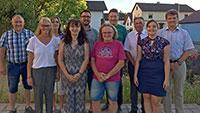 Begrüßung und Verpflichtung der neugewählten Ortschaftsräte in Leiberstung
