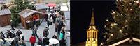 16. Sinzheimer Weihnachtsmarkt ab heute bis Sonntag – Schlemmen, schlendern, staunen auf dem Marktplatz