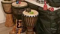 Afrikanischer Trommelkurs für Männer - Im Takt und bei freier Improvisation miteinander verständigen