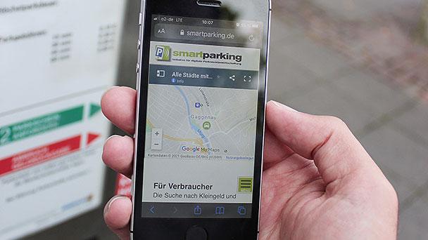 In Gaggenau wird digital bezahlt – Parkgebühren per Handy bezahlen