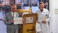 Karlsruher Unternehmen spenden an die Stadt – Hilfe auch aus Südkorea