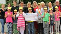 Grundschüler der Cité liefen und liefen - 380 Kilometer für einen guten Zweck