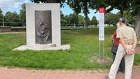 Staffelschnatzer-Denkmal nun Teil von Rastatts Historischer Route