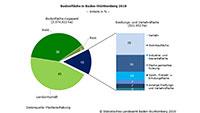 Waldanteil Baden-Württemberg 38 Prozent – Waldanteil Brasilien 59 Prozent – Baden-Baden geringster Siedlungsanteil der Stadtkreise
